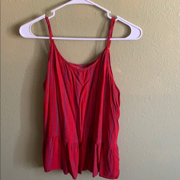 Maurices Tops - Red Spaghetti Strap Top